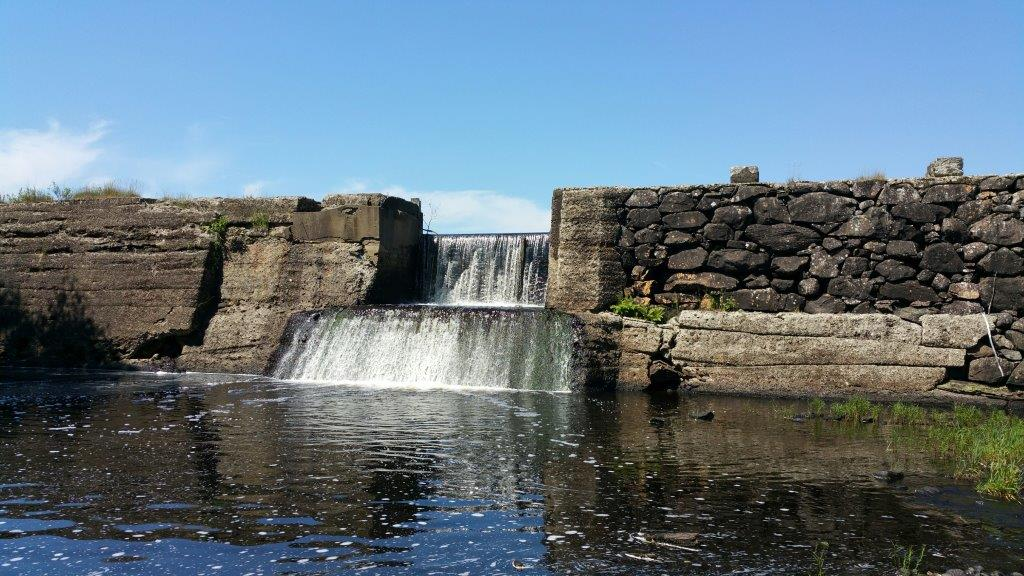 Beautiful Mill Pond Dam